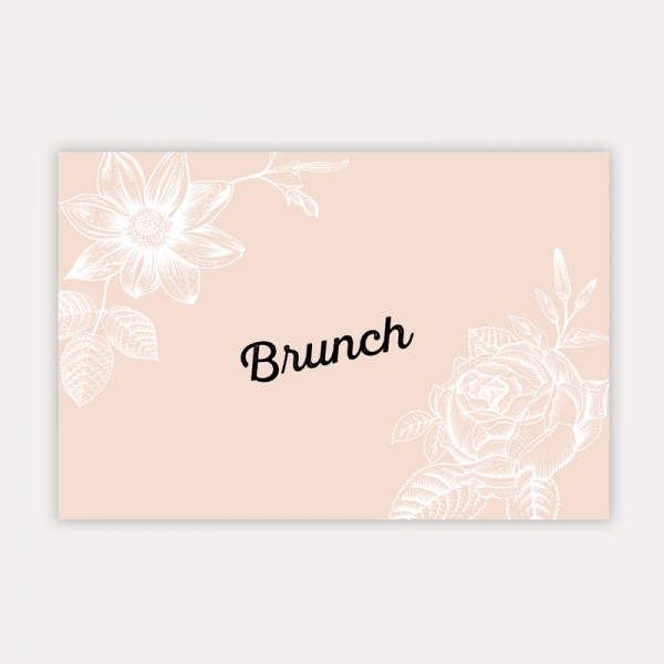 INVITATION BRUNCH - Nature Botanique